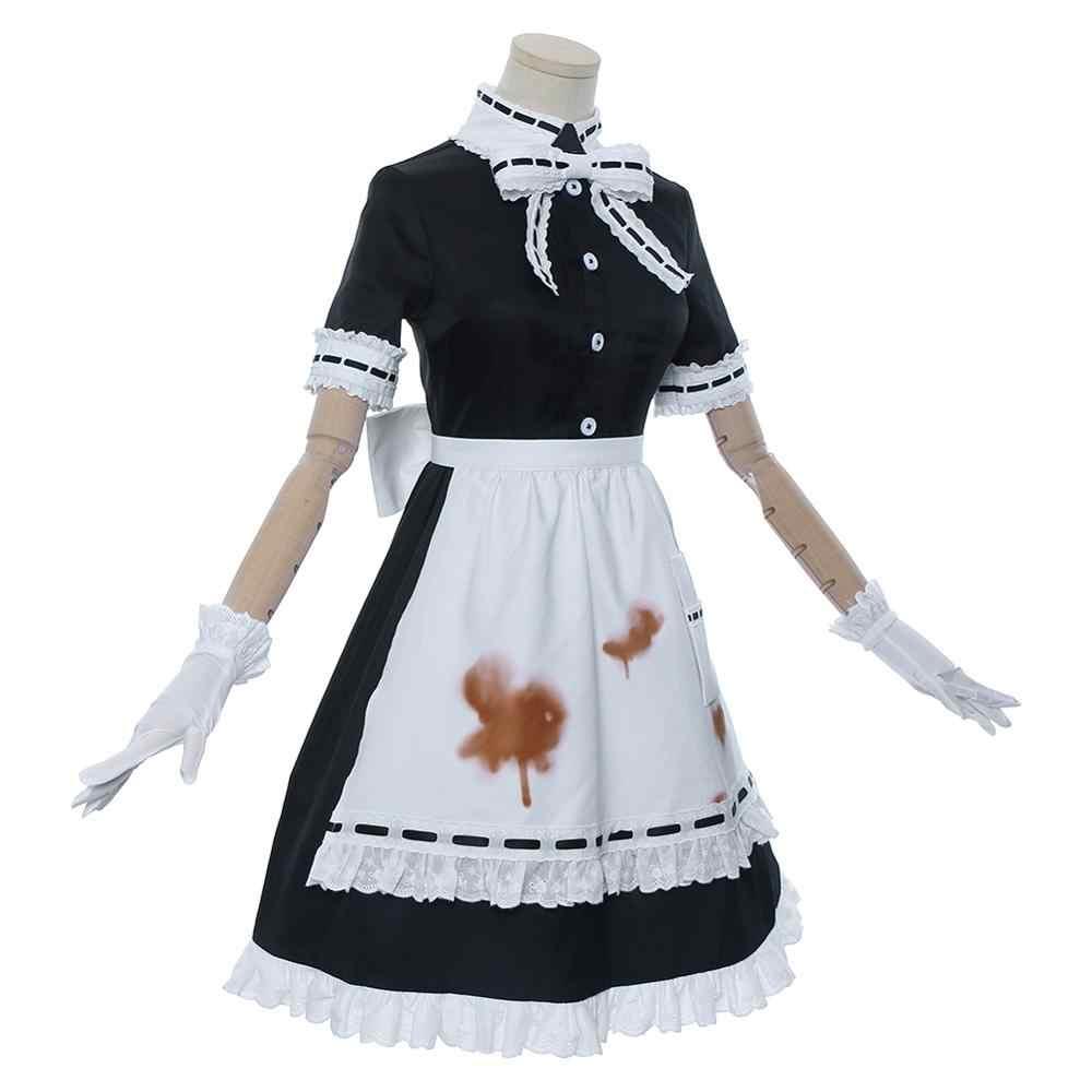 Juego de identidad V cosplay de doctor Emilie Dale vestido de criada disfraz de Carnaval de Halloween Disfraces para mujer Niña