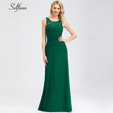 Elegant Women Dress O-Neck A-Line Sleeveless Bow Sashes Backless Sexy Maxi Ladies Long Party Vestidos Mujer 2019