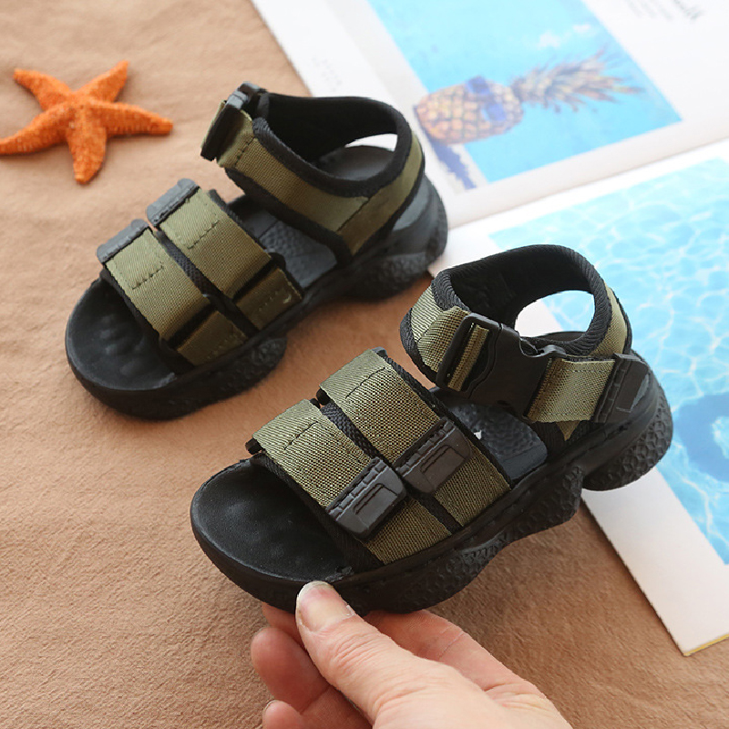 Toddler Boys Sandals Summer Sandal Kids Girls Little Big Children Sneakers Open Toe Beach Shoes Sandals Fashion Fisherman Shoes
