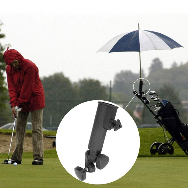 Adjustable Golf Umbrella Holder Golf Trolley Umbrella Stand Rack For Golf Accessory Suitable For Usual Trolley Has Very Wide App
