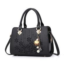 2020 Fashion Women Handbags PU Leather Embroidery Bags Brand