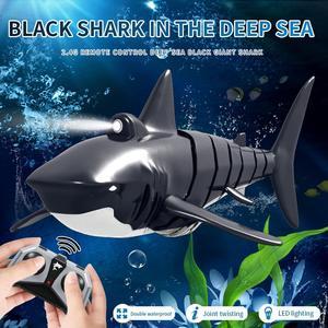 HobbyLane JY028 2.4G Remote Control Shark Boat Model Waterproof RC Toy