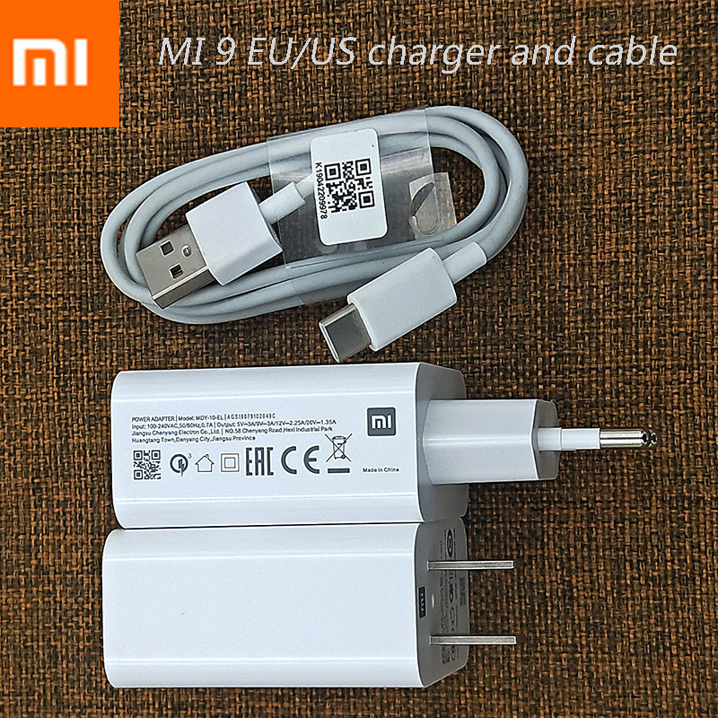 Original Xiaomi 27w Fast Charger Qc 3 0 Turbo Charge Power Adapter Usb C For Mi 9 8 Se 9t Cc9 A2 A1 Mix 3 2 Redmi Note 7 K20 Pro Wireless Chargers Aliexpress