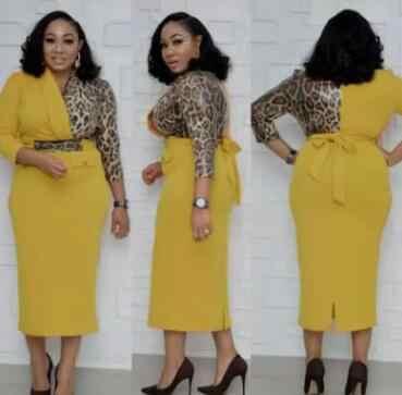 2019 nuovo arrivo di estate sexy di stile di modo africano di stampa delle donne più il vestito da formato L-XXL