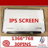 Gread A + 15.6 polegada IPS LED LCD lp156wha spa1 LP156WHA (SP) (A1) 1366*768 Exibição Laptop 30 30pins EDP
