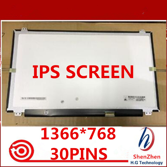 Gread A+ 15.6inch IPS LCD LED Lp156wha Spa1 LP156WHA (SP)(A1) 1366*768 Laptop Display 30pins EDP