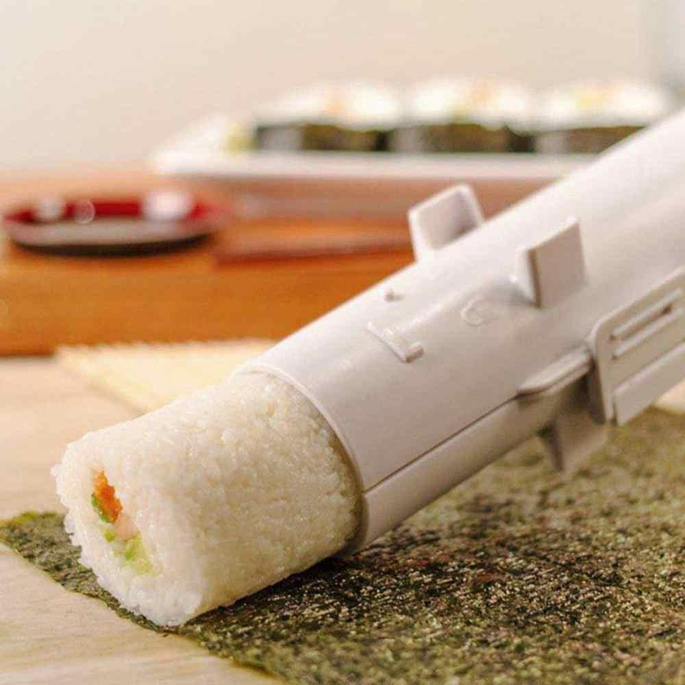 Rolo de sushi fabricante rolo molde fazendo kit sushi arroz carne legumes gadgets acessórios diy fazendo ferramentas cozinha