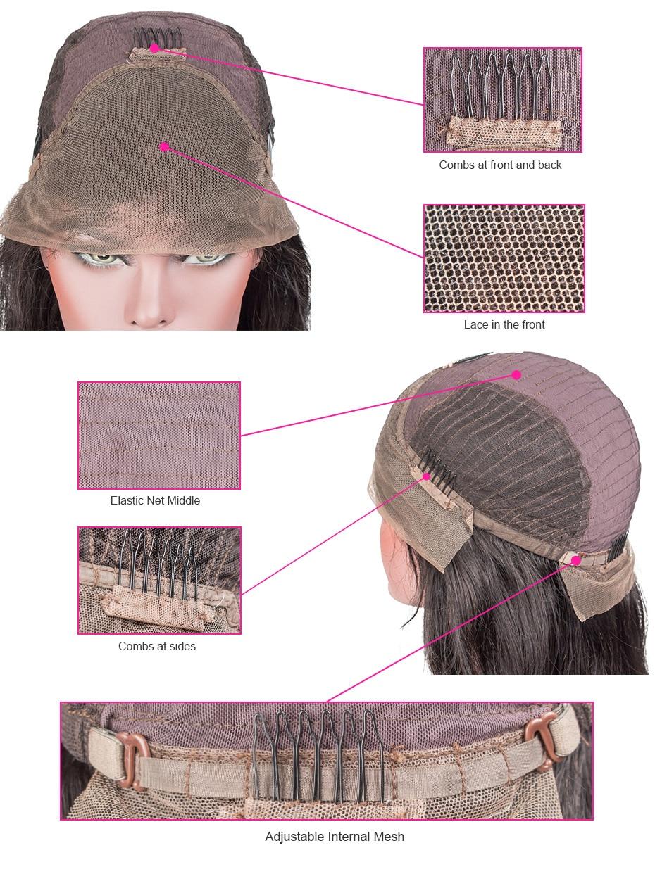Короткие Синтетические волосы на кружеве парики человеческих волос Боб парик полный и толстый для черный Для женщин натуральный Цвет