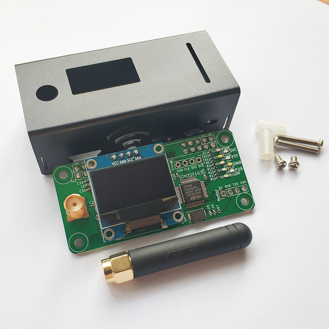 jumbospot MMDVM hotspot board Support UHF&VHF antenna Support P25 DMR YSF DSTAR NXDN for raspberry Pi Zero W, Pi 3, Pi 3B+