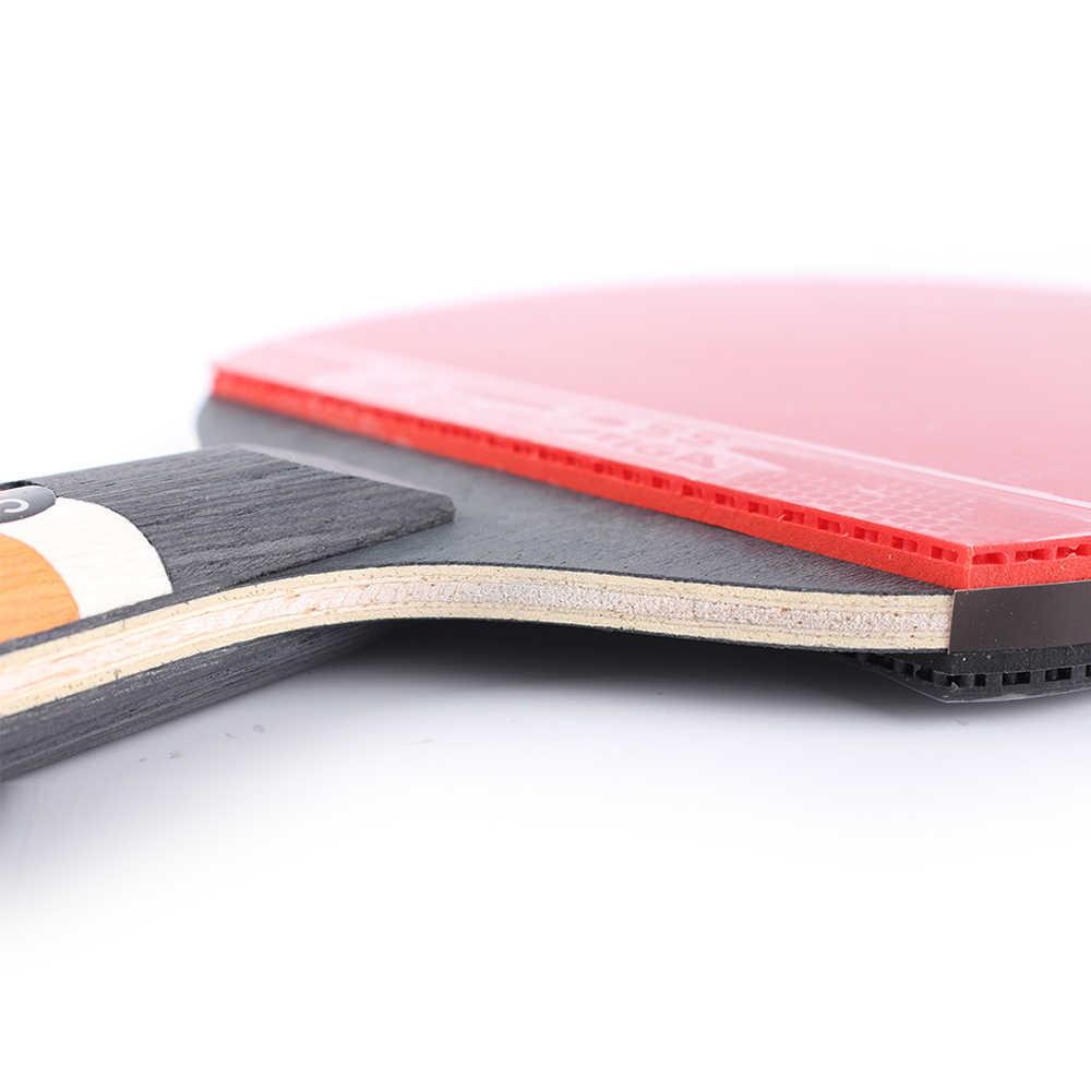 Raqueta de tenis de mesa STIGA 6 Star, raqueta de tenis profesional de Ping-pong, raquetas de tenis ofendidas, raqueta de tenis deportiva