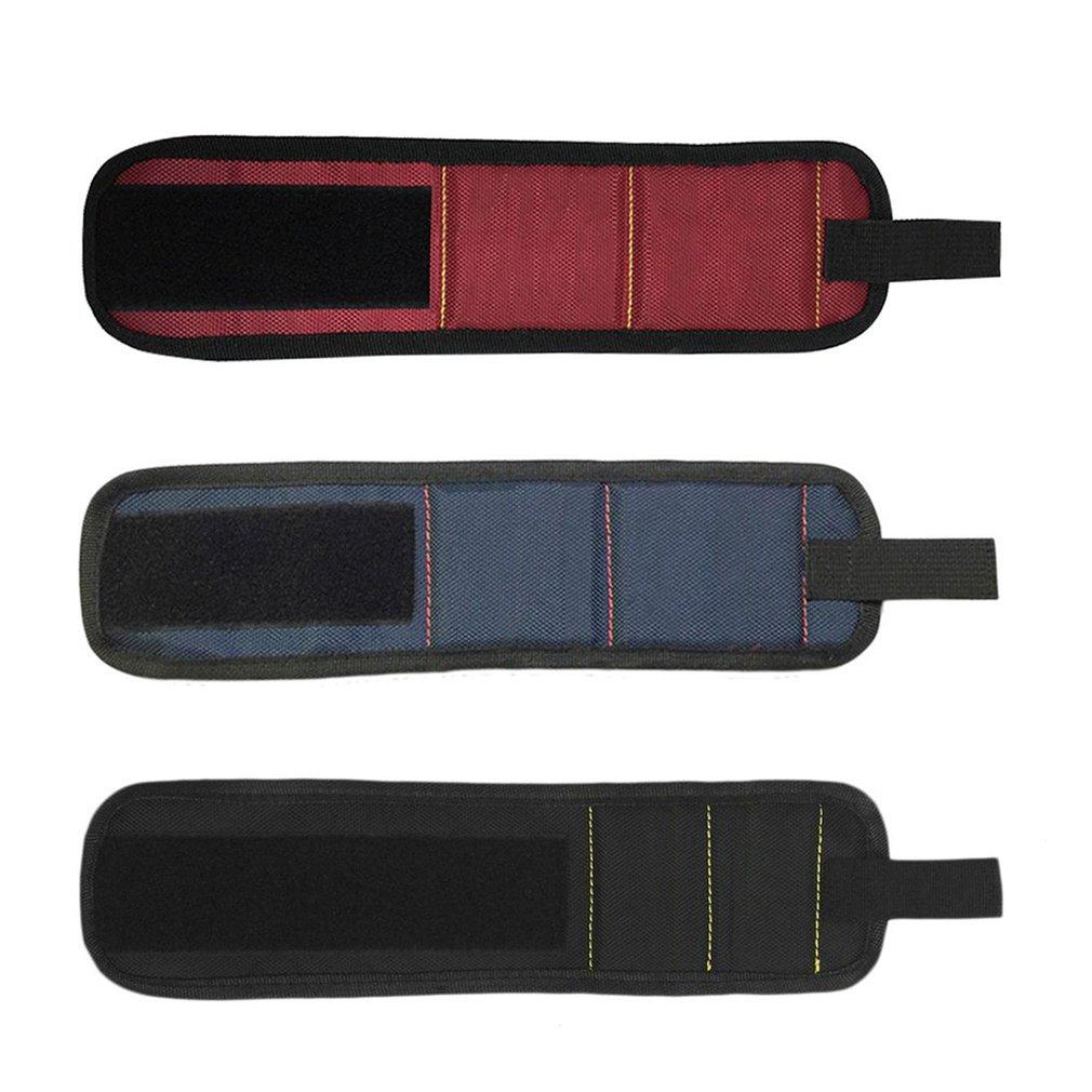 Super Magnetic Wristband Magnets Holding Scissors Tools Home Improvement Wrist Strap Pickup Repair Tools