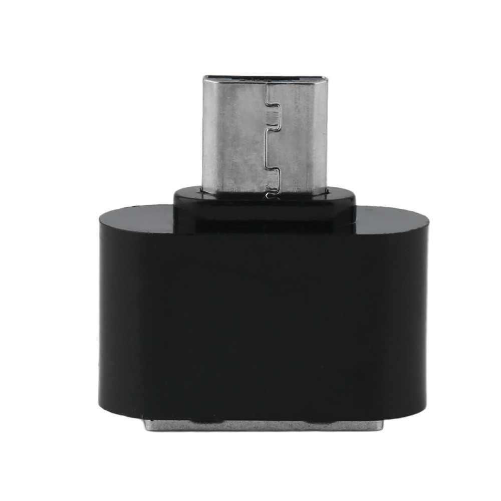 المصغّر المصغّر USB ذكر إلى USB 2.0 شاحن أنثي OTG محول ل أندرويد هاتف لوحي PC توصيل U فلاش لوحة مفاتيح وماوس