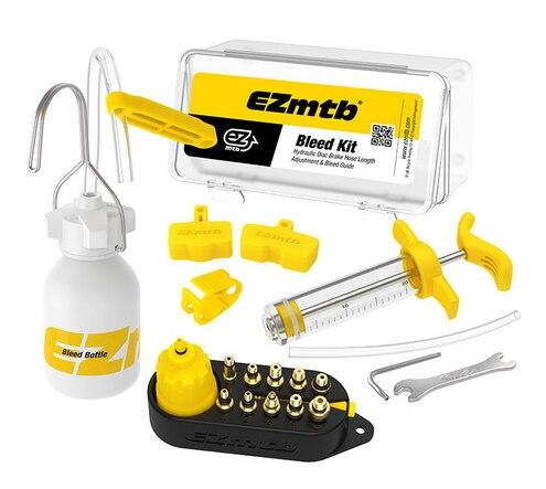 Bicycle Hydraulic Disc Brake Mineral Oil Bleed Kit Series Bike Brake Repair Tools