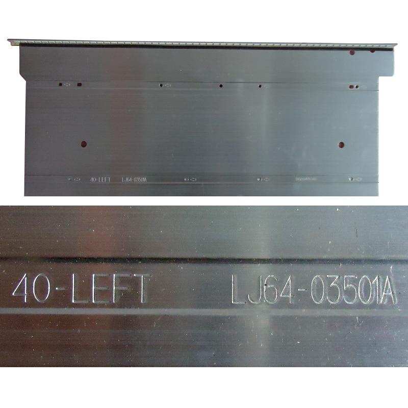 led רצועת lj64 40-שמאל LJ64-03501A LED רצועת STS400A75-56LED-REV.1 STS400A64-56LED-REV.2 Piece 1 = 56LED 493MM (4)