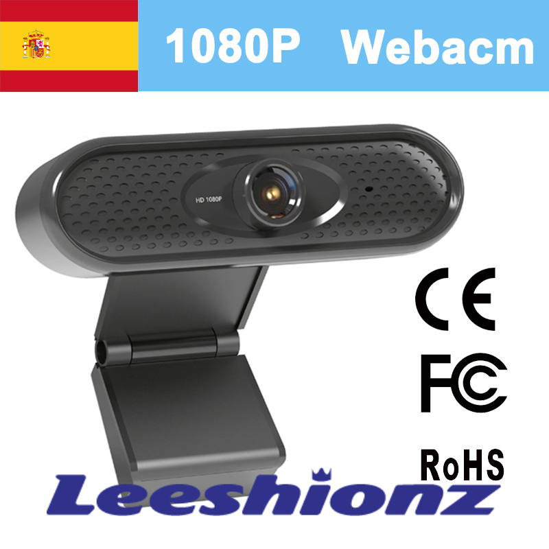 1080P HD USB Webcam Mini Computer PC Web Camera with Microphone Laptop Camera Autofocus full HD Computer Widescreen Video webcam