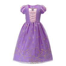 Królewna śnieżka księżniczka sukienki dla dziewczynek karnawał śpiąca królewna Belle kostium dziecko impreza z okazji Halloween odzież fantazyjny strój Cosplay tanie tanio MUABABY CN (pochodzenie) Poliester Satin Mesh Połowy łydki Pasuje prawda na wymiar weź swój normalny rozmiar DPS-595