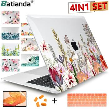 2020 Brand new Matte Clear Painting Laptop Case For Apple MacBook Pro Retina 12 13 15 Touch Bar & Air 11 13.3 inch 2020 A2179