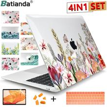 2021 Brand new Matte Clear Painting  Laptop Case For Apple MacBook Pro Retina 12 13 15 Touch Bar & Air 11 13.3 inch 2020 A2337