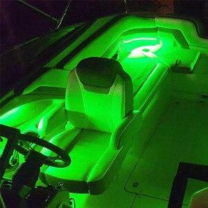 Image 5 - 4x LED סירת אור עמיד למים 12v הקיא מפזר אשנב מתחת למים טרול שחייה בריכת בריכת מזרקת אור דיג אור