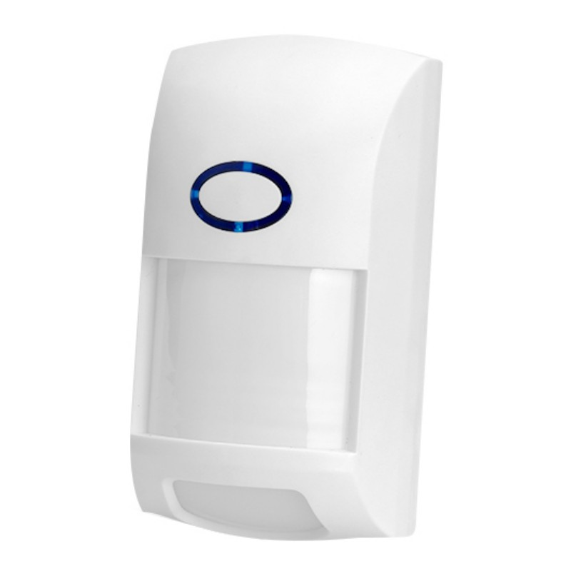 Upgrade Extra-range Wide-angle Detection Low Energy Consumption Wireless Anti-pet Infrared Detector