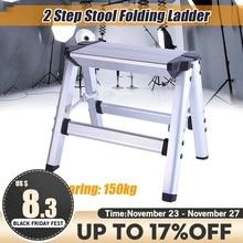 Folding Ladder Aluminum 150KG Load Anti-Slip Safety Maximum