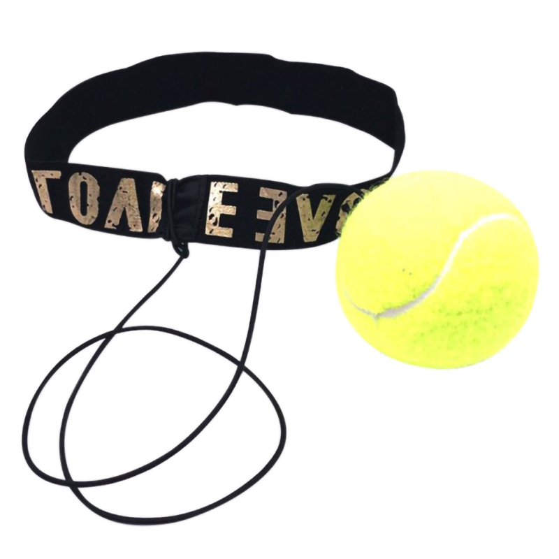Boxing Fight Elastic Ball With Headband For Reaction Speed Training Punch Exercise Hand-Eye Coordination Fight Ball