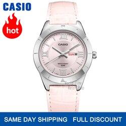 Casio часы женские часы лучший бренд класса люкс Водонепроницаемый Кварцевые часы женские женские подарки Часы светящиеся спортивные часы ...