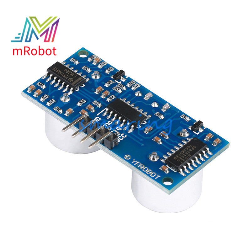 SR04 Ultrasonic Detection Module and Mounting <font><b>Bracket</b></font> Obstacle Avoidance Sensor Board for <font><b>Arduino</b></font> image