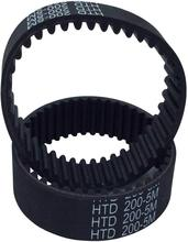 Industrial Timing Belt HTD 5M Rubber Timing Belt Closed-Loop 540-1040mm Length 15mm Width Industrial Timing Belt for 3D Printer
