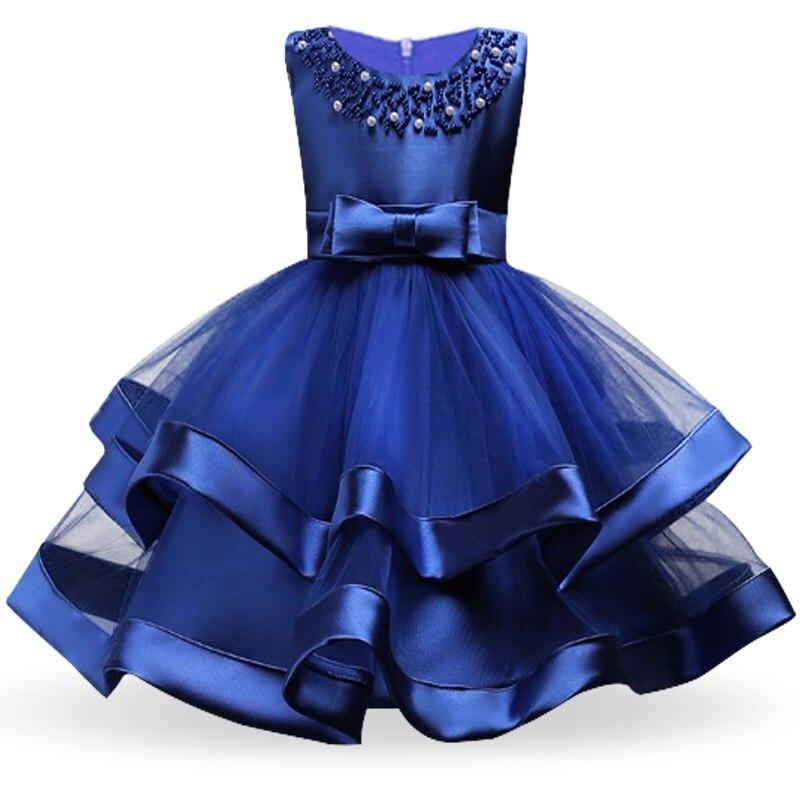 Girls Dress Elegant New Year Princess Children Party Dress Wedding Gown Kids Dresses for Girls Birthday Party Dress Vestido Wear 9