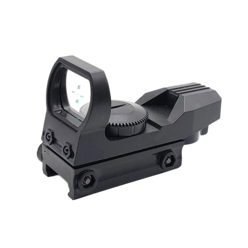 For Nerf Series 20mm Orbital Sight Hunting Optical Hologram Red Dot Aiming Reflection 4 Fin Tactical Range Collimation Sight