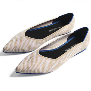 Image 5 - GENSHUO Women Ballet Flats Shoes Slip On Pointed Toe Ladies Casual Drive Shoes Comfortable Soft Loafers Shoes For pregnant Woman