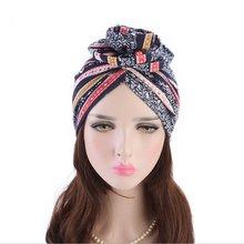 Мусульманских женщин тюрбан эластичный индийские женские шапочки