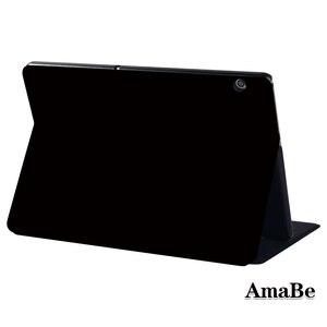 Odporność na upadki solidna obudowa do Huawei MediaPad T5 10 10.1 cala odporna na kurz miękka skórzana obudowa ochronna