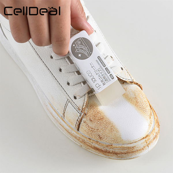 CellDeal 1Pc Cleaning Eraser Suede Sheepskin Matte Leather And Leather Fabric Care Shoes Care Leather Cleaner Sneakers Care