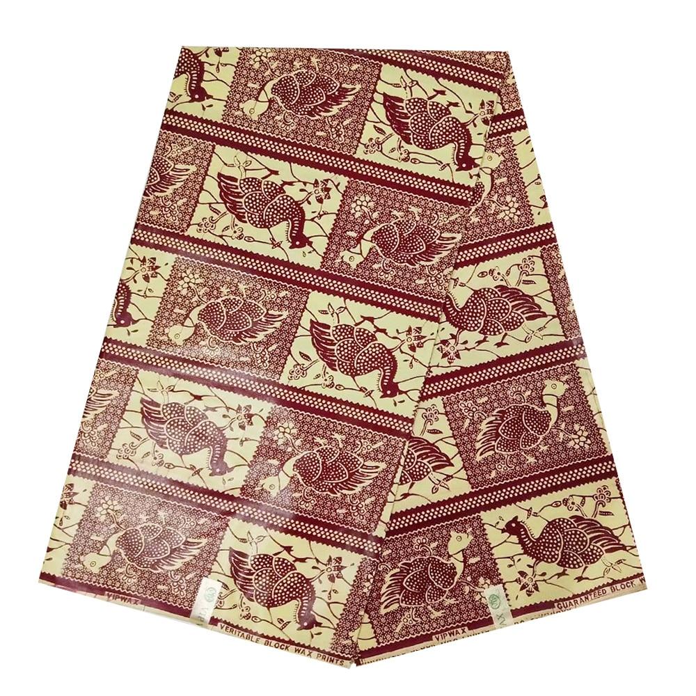 Pange African Wax Fabric Cotton Real Holland Block Print Veritable Wax Fabrics For Sewing, Ghana Nigerian Ankara Wax Cloth