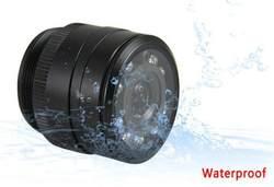 28 мм свет включен высокой четкости ночного видения инфракрасная CCD Автомобильная резервная камера PZ402 на бортовой камере