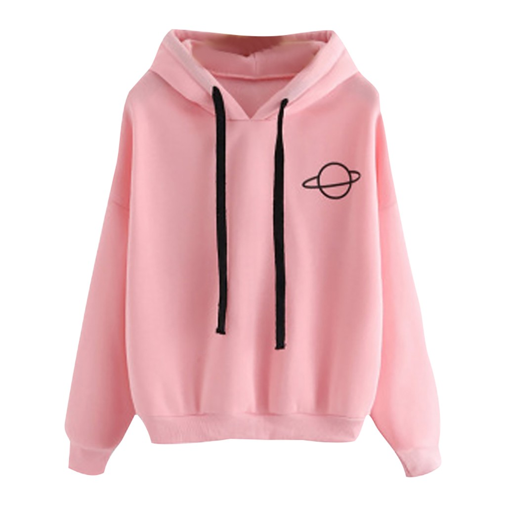 Plus Size Autumn Hooded Hoodie Women Long Sleeve Loose Drawstring Black Casual Women Sweatshirt Pullover With Hat Sudadera Mujer