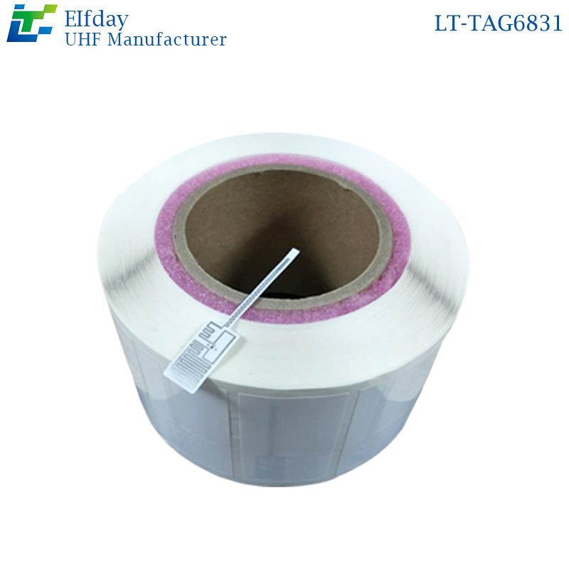 LT-TAG6831RFID UHF Jewelry Label 915MHZ Electronic Label Anti-theft 6C G2 Passive RF Smart Inventory