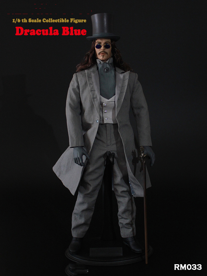 In stock 1/6 Dracula Red RM032 & RM033 Dracula Blue Version Action Figure Model for collection Colletible boxed