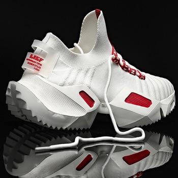 Damyuan Runningg Scarpe 2020 traspirante scarpe da tennis Degli uomini 47 di grandi Dimensioni Degli Uomini di Modo Da Jogging Scarpe Sportive 46 leggero Casual Scarpe 1