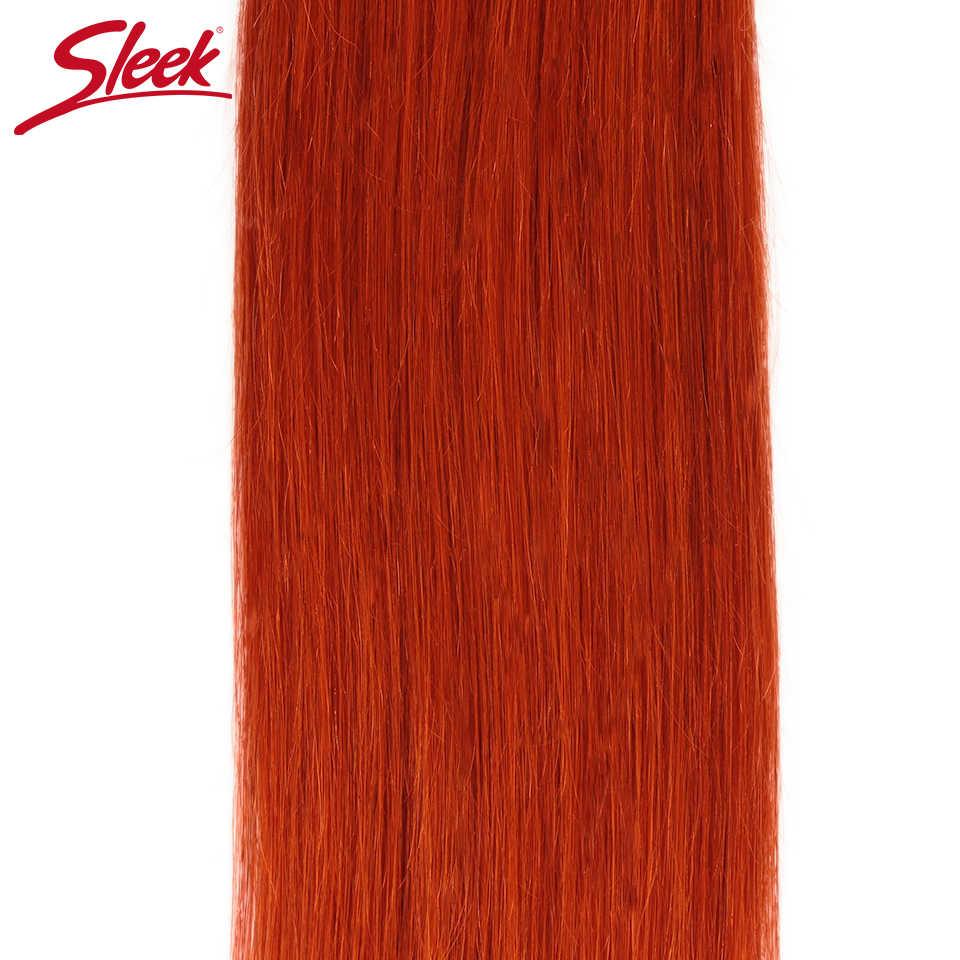 מלוטש כתום ישר ברזילאי שיער Weave חבילות להתמודד שיער טבעי הארכת ספקי 8 כדי 28 Inch רמי 100% שיער טבעי חבילות