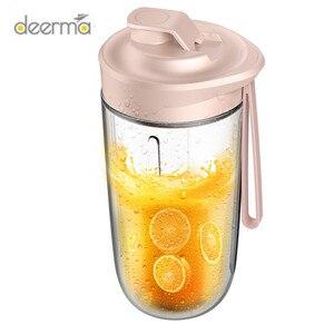 Image 3 - Youpin Deerma Juicer Automatische Wireless Home Fruit Groente Babyvoeding Milkshake Mixer Multifunctionele Mini Sap Elektrische Sap