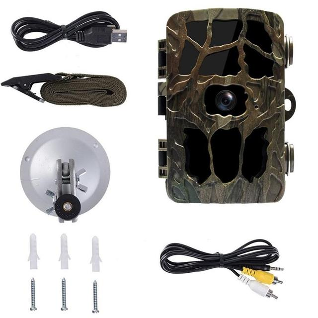 H982 12MP 1080P Hunting Camera 0.6S Motion Fast Trigger Digital Infrared Trail Cam Night Vision Wild Camera Photo Traps Game