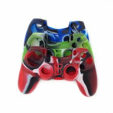 Silicone Cover Joystick Caps Case Anti-slip Grip Handle Cover Protective Case for Sony Playstation 4 PS4 Controller стоимость