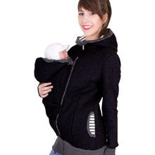 Keep Warm Baby Carrier Kangaroo Hoodie Winter Maternity Hoody Outerwear Coat for Pregnant Women Carry Baby Pregnancy Clothing цены онлайн