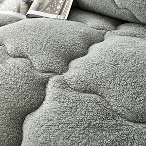 Image 3 - Svetanya edredón cálido grueso para cama, relleno de Cachemira de cordero Artificial, manta