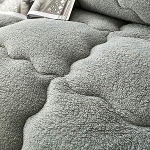 Image 3 - Svetanya quente consolador grosso enchimento de cama artificial cordeiro cashmere joga cobertor