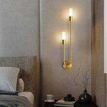 Современная светодиодная настенная лампа в скандинавском стиле
