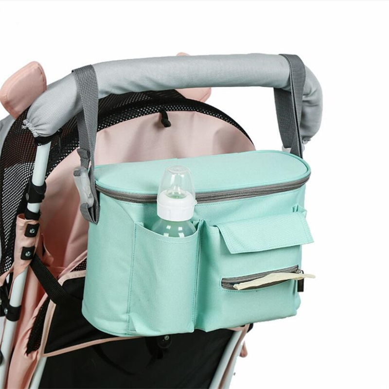 Baby Diaper Mom Bags Pram Cart Stroller Hanging Bag Waterproof Outdoor Travel Mommy Bags Travel Trolley Backpack Maternity Bag